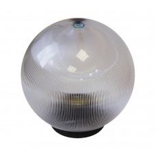 Плафон уличный Шар d350 мм ПММА Прозрачный призма