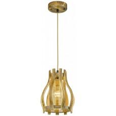 Светильник подвесной Velante 540-706-01 E27 40 Вт жженый дуб