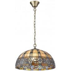 Светильник Тиффани Velante 824-806-02 E27 60 Вт разноцветный