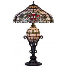 Настольная лампа Velante 844-804-03 E27*E14 60+25 Вт разноцветный