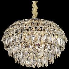 Хрустальная люстра Wertmark WE113.11.303 Ludgera E14 40 Вт белое золото, прозрачный