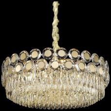 Хрустальная люстра Wertmark WE134.25.303 Claudia E14 40 Вт белое золото, прозрачный