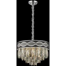 Хрустальная люстра Wertmark WE135.07.103 Calista E14 40 Вт хром, серый, черный, прозрачный