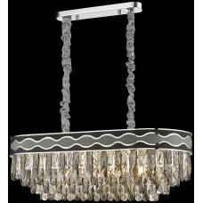 Хрустальная люстра Wertmark WE135.12.123 Calista E14 40 Вт хром, серый, черный, прозрачный
