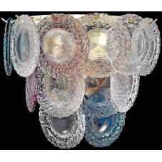 Настенный светильник Wertmark WE140.03.301 Brigitta E14 40 Вт белое золото, разноцветный