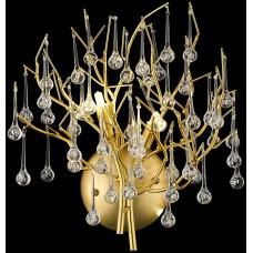 Бра Wertmark WE189.02.401 Dionisia G9 40 Вт матовое золото