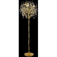 Торшер Wertmark WE189.05.405 Dionisia G9 40 Вт матовое золото