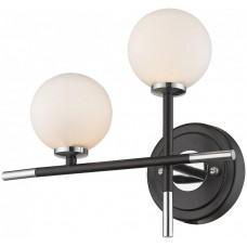 Бра Wertmark WE238.02.101 Brando G4 LED 10 Вт черный, хром