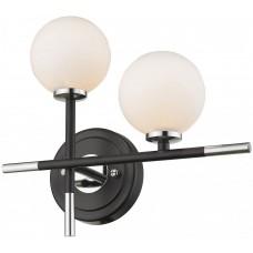 Бра Wertmark WE238.02.121 Brando G4 LED 10 Вт черный, хром