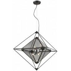 Подвесная люстра Wertmark WE244.08.023 Rombo G9 LED 56 Вт черный, дымчатый