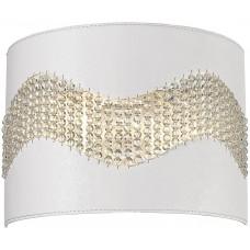 Настенный светильник Wertmark WE394.02.001 Adriana E14 40 Вт белый, хром