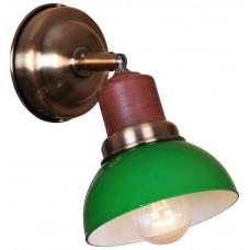 Бра Velante 320-581-01 бронза, зеленый