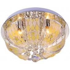 Потолочная люстра Velante 739-107-04 хром, белый, желтый