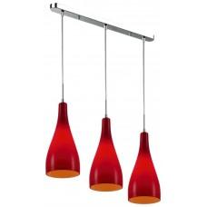Подвесной светильник Wertmark WE210.03.176 Bootle хром, красный