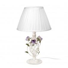 Настольная лампа Vitaluce V1790-0/1L бело-бежевый матовый