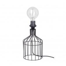 Настольная лампа лофт Vitaluce V4352-1/1L чёрный матовый