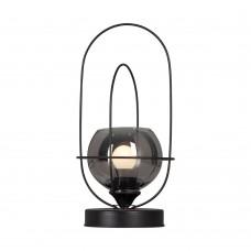 Настольная лампа лофт Vitaluce V4462-1/1L чёрный матовый