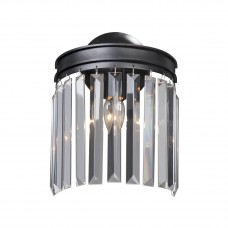 Настенный светильник Vitaluce V5151-1/1A черный