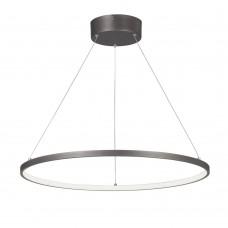 Люстра светодиодная Vitaluce V4665-2/1S LED 36Вт 3900-4200K бронзовый графит