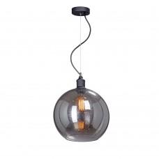 Подвесной светильник Vitaluce V4847-1/1S, 1хЕ27 макс. 40Вт черный матовый