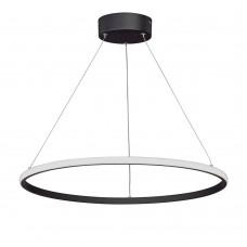 Люстра светодиодная Vitaluce V4614-1/1S LED 39Вт 3900-4200K черный матовый