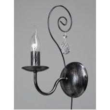 Бра Vitaluce V1179/1A черненое серебро