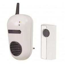 Звонок беспроводной Zamel в розетку Булик 1 мелодия,радиус 80 м DRS-982K 230V