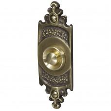 Кнопка звонка Zamel медь (овальная табличка) PDM-232 скрытой установки