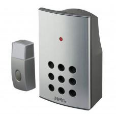 Звонок беспроводной Zamel ALCALINO радиус 100м (питание от батареек) ST 337