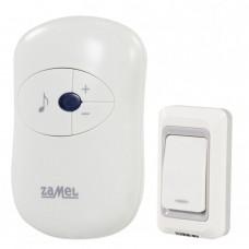 Звонок беспроводной Zamel DISCO радиус 80м (питание от розетки 220В) ST 930