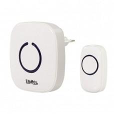 Звонок беспроводной Zamel POP радиус 100м (питание от сети 220В) ST 940